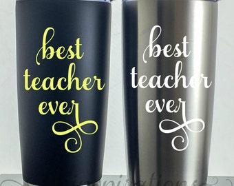 Teacher Travel Mug, Teacher Travel Coffee Mug, Teacher, Teacher Gifts, Teacher appreciation gift, personalized teacher gift, Christmas Gifts