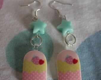 Ice earrings