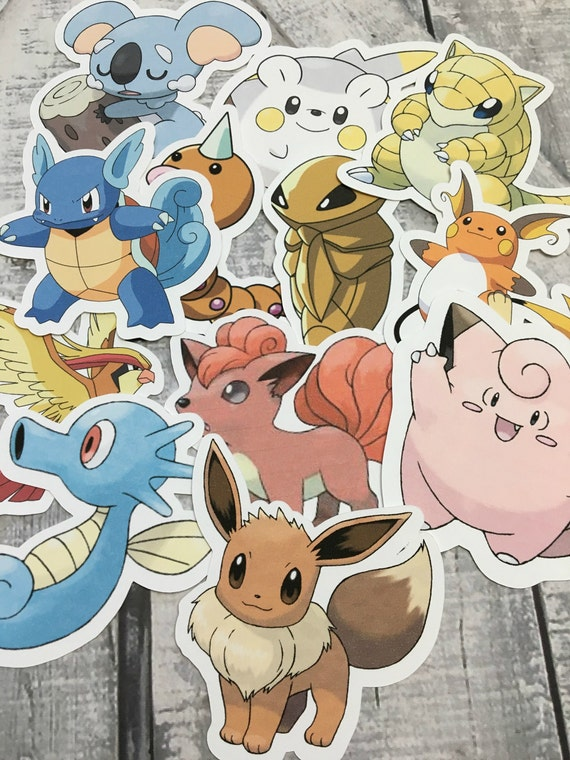 Large Die Cuts - Pokemon,Pokemon Go,Cut Outs,Scrapbooking,Paper Embellishments, Scrapbooking Die Cuts,Pokemon Party,Pokemon Banner,Pokemon 2