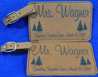 Anniversary Gift ~ Luggage Tag ~ Leather Tag ~ Cruise Ship Gift ~ Travel Gift ~ Custom Travel Gift ~ Great Gift For Travelers ~ Pilot Gifts