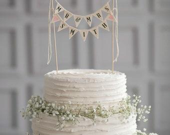 Mr & Mrs Wedding Cake Topper, mr and mrs cake topper, personalized wedding cake topper, custom wedding cake topper, Mr and Mrs cake toppers