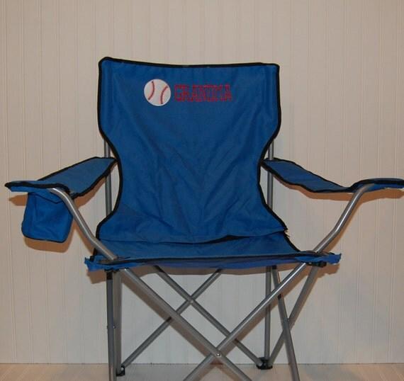 Personalized Baseball Or Softball Camping Folding Chair