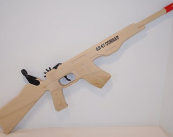 AK-47 Combat Rubber Band Shooter