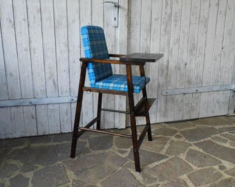 old Children's Chair / high Chair / from the 60s - Chair for children