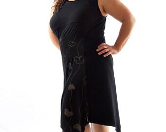 Women's Black Dress Size L
