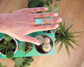 Ring drop - 96 patterns to choose from-Bronze, gold or silver. Remember to read the description!