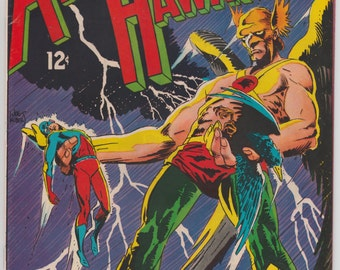 1968 The Atom & Hawkman #40 High Grade Silver Age DC Comic Book 12 Cent Issue 1960s Joe Kubert Cover Artwork