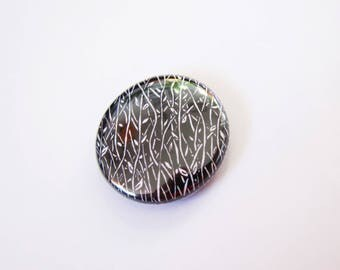 vine badge - pinback button -