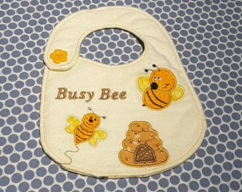 Baby Applique Machine Embroidery Design Bees