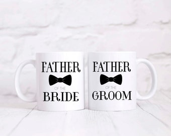 Father Of The Bride, Mug Set, Father Of The Groom, Gifts, Wedding Gift for Dad, Dad gift, Father Of The Bride Mug,