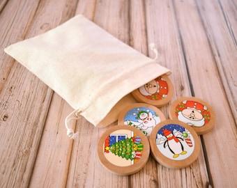 Wooden Memory Game, Kids Stocking Stuffer, Matching Game, Toddler Gift, Toddler Game, Wooden Toddler Toys, Gift for Kids, Montessori Toddler