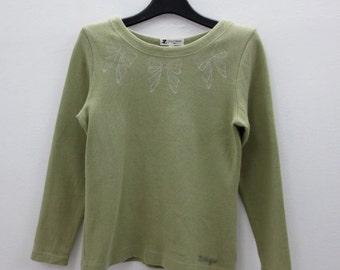 Courreges Sweater Vintage Courrèges Pullover Courrèges Paris Sweat Size 9R Womens Size S