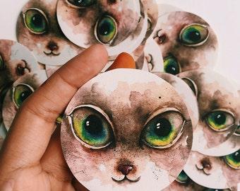 catseyes - sticker pack