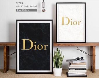 Dior Logo - Christian Dior Print Dior Art Cristian Dior Poster Dior Perfume Glamour Art Dior Pictures Dior Homme Dior Sign Dior Brand Dior