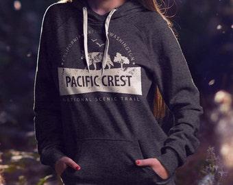 Pacific Crest Trail Hoodie - Hooded Sweatshirt - PCT Hoodie