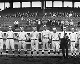 Boston Red Sox, Panoramic Photo, American League, Black White Photography, Boston, MA, Baseball Photography, Baseball Team, Gift For Him