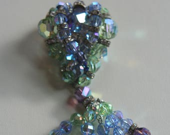 Vendome Elegant Crystal Brooch