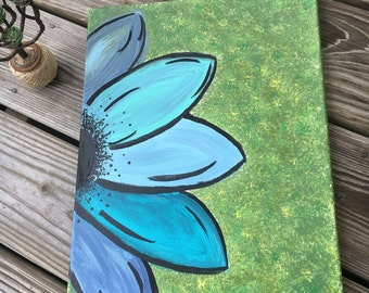 No. 101 Flower Painting - Acrylic Painting on Canvas