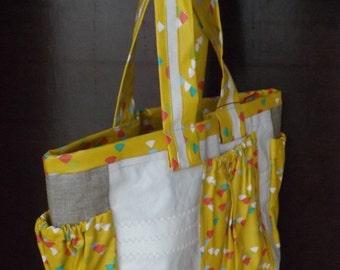 Small sail-cloth bag size