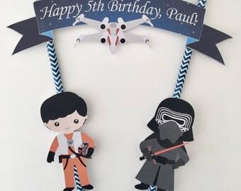 Star Wars 'The Force Awakens' Cake Bunting