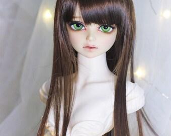 1/3bjd sd 1/4bjd msd wigs , Long Straight hair T303