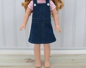 """14"""" - 14.5"""" Doll Clothes Jeans Jumper and T-Shirt - 14.5 inch Doll Jumper- AG Wellie Jumper - Wishers Doll Clothes - 14"""" Hearts for Doll"""