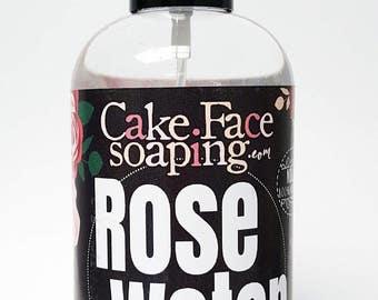 Rose toner rose Water mist rose water spray