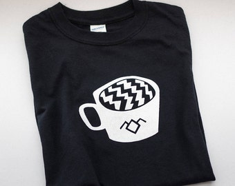 Twin Peaks - The Black Lodge Coffee Tee