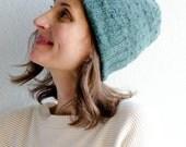 Flurry Hat in Jade Heather