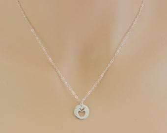 Apple Necklace, Teacher Necklace, Teacher Jewelry, Apple Pendant, BeadXS, Sterling Silver, Teacher Gift, Big Apple, New York