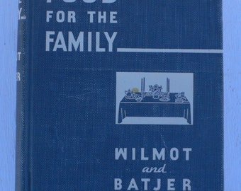 vintage textbook, Food For the Family, housekeeping, home ec, 1938, from Diz Has Neat Stuff