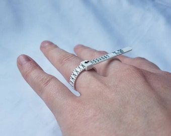 Ring Sizing Gauge, Reusable Ring Sizer for HSLDesigns Rings