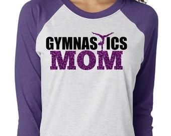 Gymnastic Mom Shirts, Gymnast Mom, Gymnastic Shirt, Gymnastics, Gymnastics Mom Tee, Gymnastic Tee, Gymnastic Mom Tshirt, Mothers Day Shirt