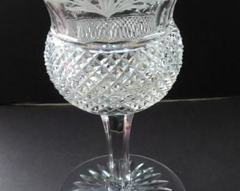 Vintage 1950s EDINBURGH CRYSTAL THISTLE Etched. Liquer Glass. 4 1/4 inches. Five Available