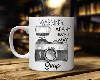 Photographer Gift, Photographer Mug, Photography Gift, Camera, Oh Snap, Camera Mug, Photography Mug, wedding photography, photography gifts