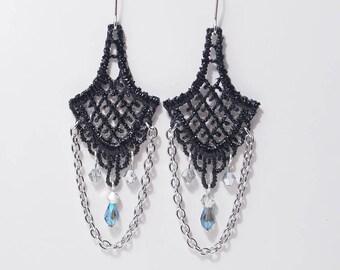 Victorian Lace Earrings