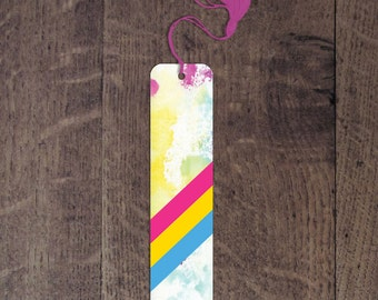 Pansexual flag bookmark