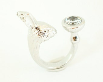 Glacier Rabbit Ring