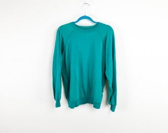 Baggy Teal Green 90's Sweatshirt
