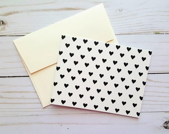 Blank Love Card, Heart Note Card, Love Note Card, Engagement Card, Anniversary Card, Love Card, Just Because Card, Any Ocassion Card