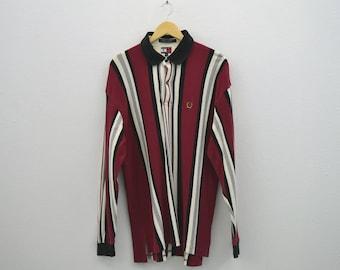 Tommy Hilfiger Vintage Shirt Vintage Hilfiger Casual Polo Shirt Mens Size XL