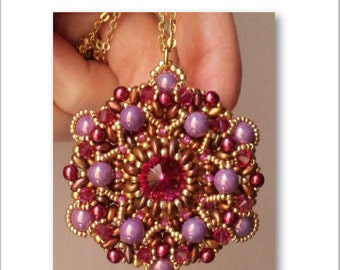 "TUTORIAL ""Baroque"" pendant / ciondolo"
