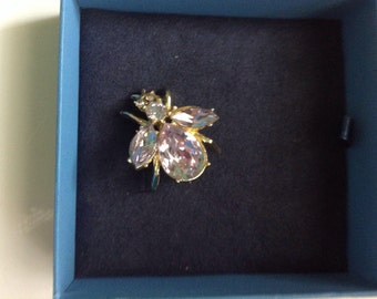 Vintage Juliana lavender brooch