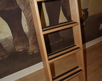 Texas Custom Oak Loft Ladder with Clear Urethane Finish All loft installation hardware Included