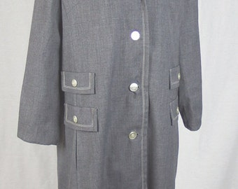 Vintage Womens 1960s / 1970s Weather Charmer All Weather Rain Coat - Excellent Condition