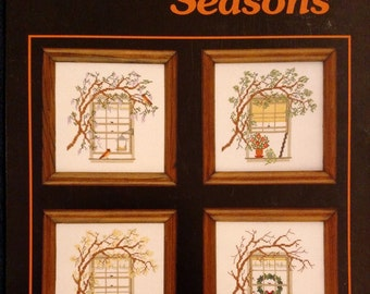 Barbara & Cheryl design Country Seasons Cross Stitch pattern booklet