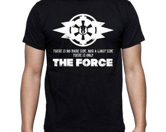 Grey Jedi Code T-shirt Star Wars print Jedi Sith Symbol The Force Balance Movie t-shirt Gift for him For boyfriend Gift for geek Mens tshirt