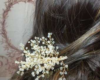 Lovely Gatsby Bridal Wedding Hairpiece Comb
