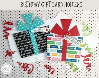 KIT Celebrate! Birthday Gift Card Holder / Cash for Birthdays / Credit Card Holder / Birthday Gifts / Happy Birthday / Birthday Present