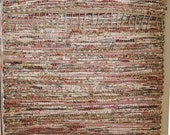 "Hand Woven Rag Rug - Cottage Rose Cotton Floor Runner 24"" x 80"""